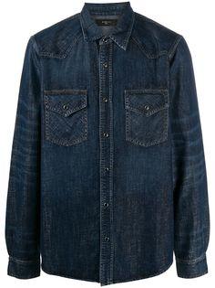 AMIRI джинсовая рубашка на пуговицах