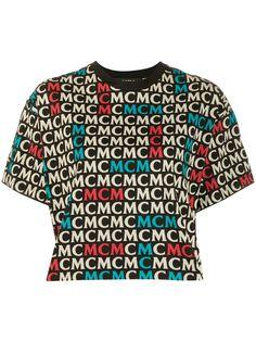 MCM футболка с монограммой