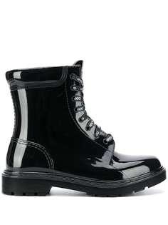 HUGO ботинки на шнуровке с логотипом