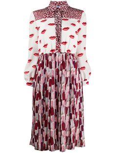 Prada платье с принтом