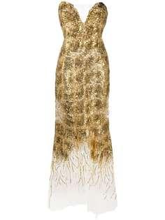 Ermanno Scervino вечернее платье с пайетками