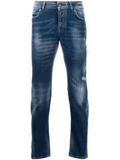 John Richmond зауженные джинсы Mick средней посадки