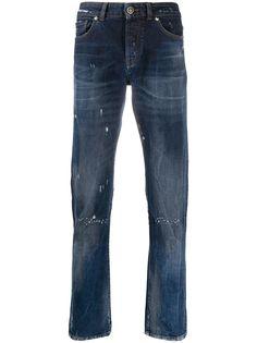 John Richmond зауженные джинсы Sid средней посадки