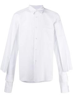 Comme Des Garçons Homme Plus рубашка с длинными рукавами