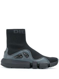 Diesel высокие кроссовки