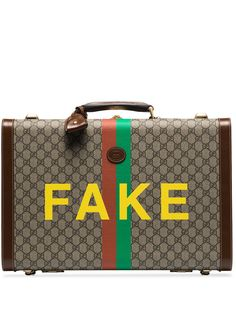 Gucci портфель Fake/Not среднего размера с монограммой