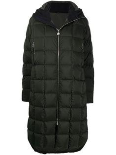 Ienki Ienki стеганое пальто Corn с капюшоном
