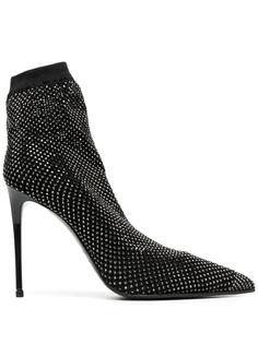 Le Silla туфли-лодочки с кристаллами