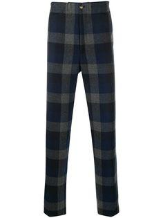 Kenzo клетчатые брюки строгого кроя