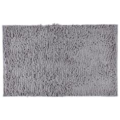 Коврик Доляна Букли длинные 50х80 см серый