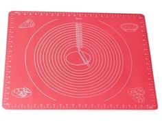Коврик для раскатки теста Kamille 50x40cm 7787
