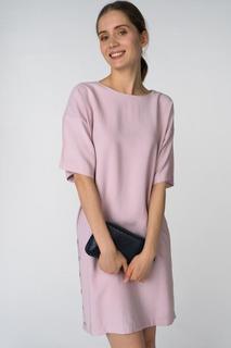 Платье женское Baon B458011 розовое S
