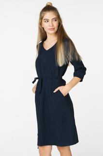 Повседневное платье женское Baon B458015 синее L