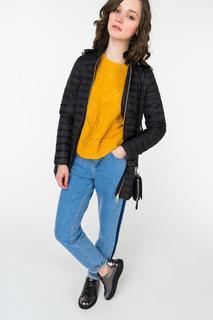 Куртка женская GEOX W8425E/T2449 черная 38