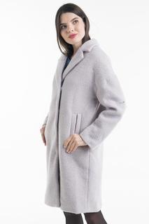 Пальто женское Baon B068002 фиолетовое L