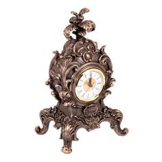 Часы настольные Барокко 19*15*32см Русские подарки 227611