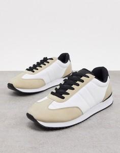 Песочно-черные кроссовки в стиле ретро Cotton On-Мульти Cotton:On