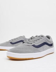 Спортивные кроссовки в винтажном стиле Vans Cruze-Серый