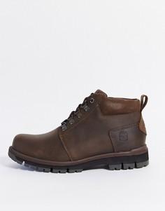 Коричневые ботинки чукка Timberland-Коричневый