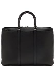 Черная кожаная сумка Metropolitan Coach
