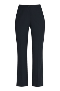 Шерстяные брюки прямого кроя Marina Rinaldi