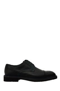 Кожаные туфли на шнуровке Moreschi