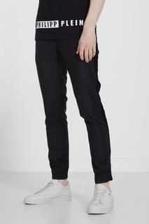 Черные брюки с эластичным поясом Philipp Plein