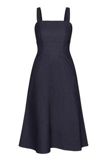 Темно-синее джинсовое платье Terekhov Girl