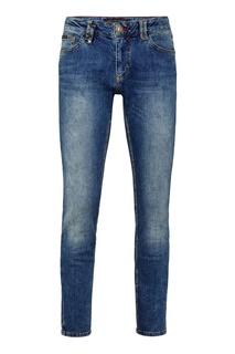 Синие узкие джинсы Philipp Plein