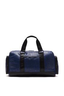 Черно–синяя дорожная сумка Bikkembergs