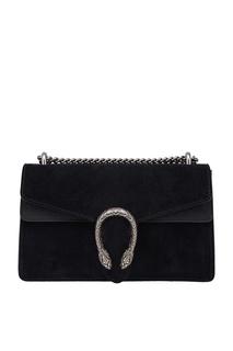 Замшевая сумка Dionysus Gucci