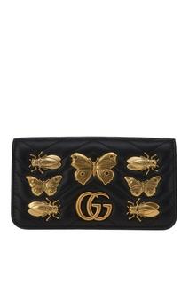 Сумка GG Marmont с декором Gucci