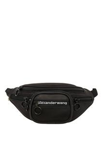 Черная мини-сумка на пояс Attica Alexander Wang