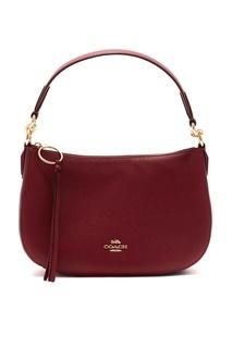 Темно-красная сумка Sutton Crossbody Coach