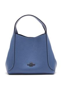 Голубая сумка Hadley Hobo 21 Coach