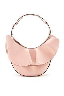 Светло-розовая сумка с рюшами RED Valentino