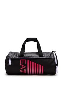 Черная спортивная сумка Emporio Armani
