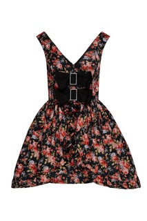 Коктейльное платье с цветочным принтом и бантами Maison Bohemique