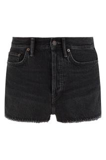 Черные джинсовые шорты Acne Studios