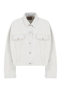 Куртка из выбеленного денима Acne Studios