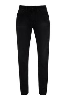 Черные джинсы с потертостями Off White