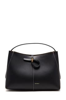 Черная кожаная сумка Ava Wandler