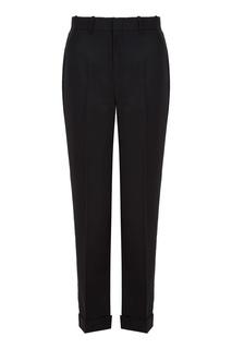 Черные укороченные брюки Gucci