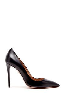 Черные кожаные туфли Simply Irresistible Pump 105 Aquazzura