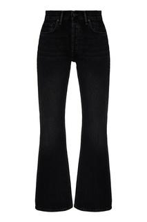 Расклешенные джинсы черного цвета Acne Studios