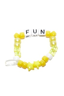 Желтый браслет Fun Lauren Rubinski