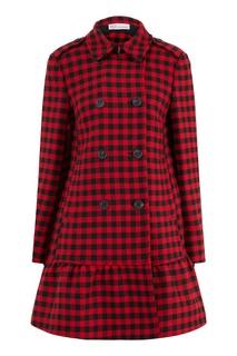Приталенное пальто с воланом RED Valentino