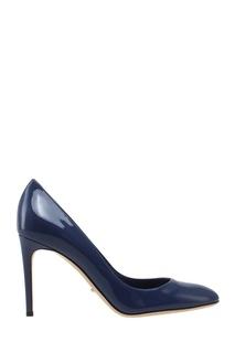 Туфли из лакированной кожи Sergio Rossi