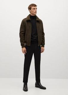 Авиаторская куртка-дубленка - Russel Mango