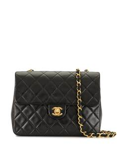 Chanel Pre-Owned стеганая сумка на плечо 1990-х годов